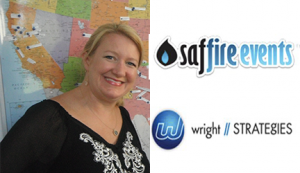 Kendra Wright, founder of Saffire Events & Wright Strategies.