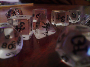 Role-playing dice have nothing on the role-playing CFO when it comes to improving the sales system.Photo by cal-harding from flickr.     Role-playing dice are like the role-playing CFO whose job includes improving the sales system. Photo by cal_harding from flickr.