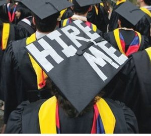 Graduates looking for work.