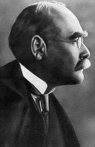 Rudyard Kipling author and poet.