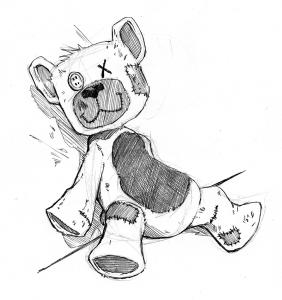 Decrepit Teddy Bear image